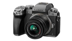 Panasonic DMC-G70KEG-S Lumix 4K Systemkamera