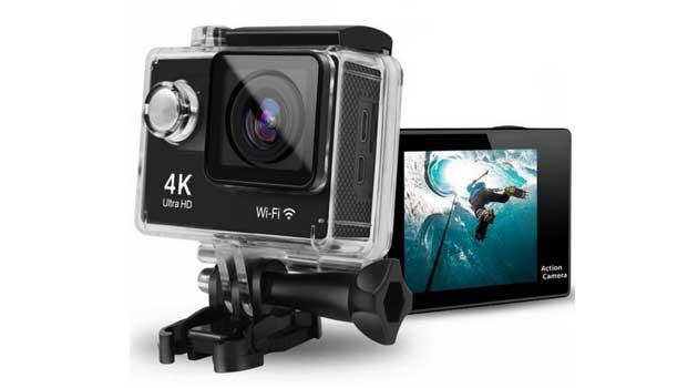 htkj daily original mini ultra 4k action cam test 4k. Black Bedroom Furniture Sets. Home Design Ideas