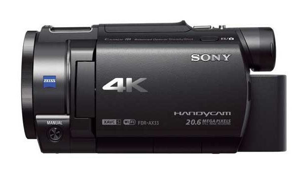 sony fdr ax33 4k camcorder test 4k kamera tests. Black Bedroom Furniture Sets. Home Design Ideas