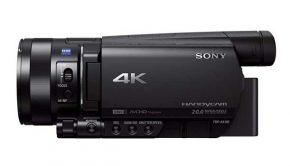 Sony FDR-AX100E 4K Camcorder Ultra-HD