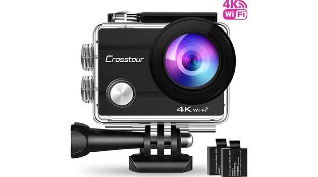 crosstour action cam 4k 4k kamera tests. Black Bedroom Furniture Sets. Home Design Ideas